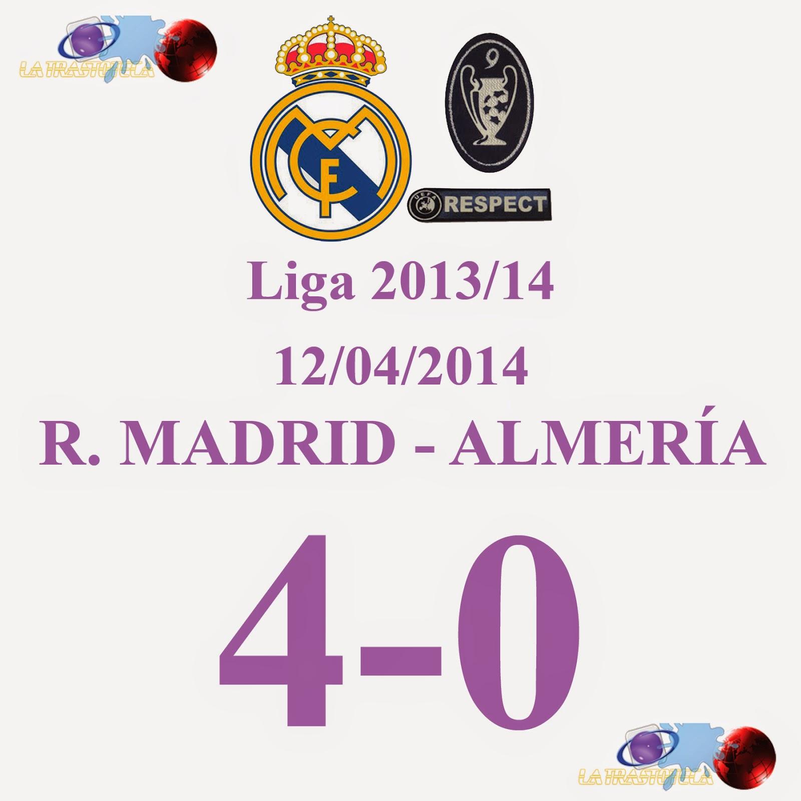 Isco (3-0) Jornada 33 - 12/04/2014