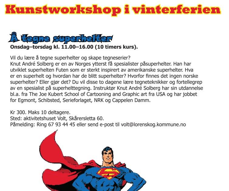 norsk tegneserie Kristiansand