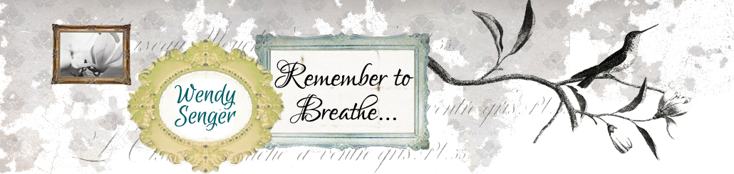 Just Breathe........