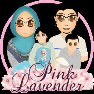 Watermark Blog Pink Lavender, edit blog murah, design blog murah