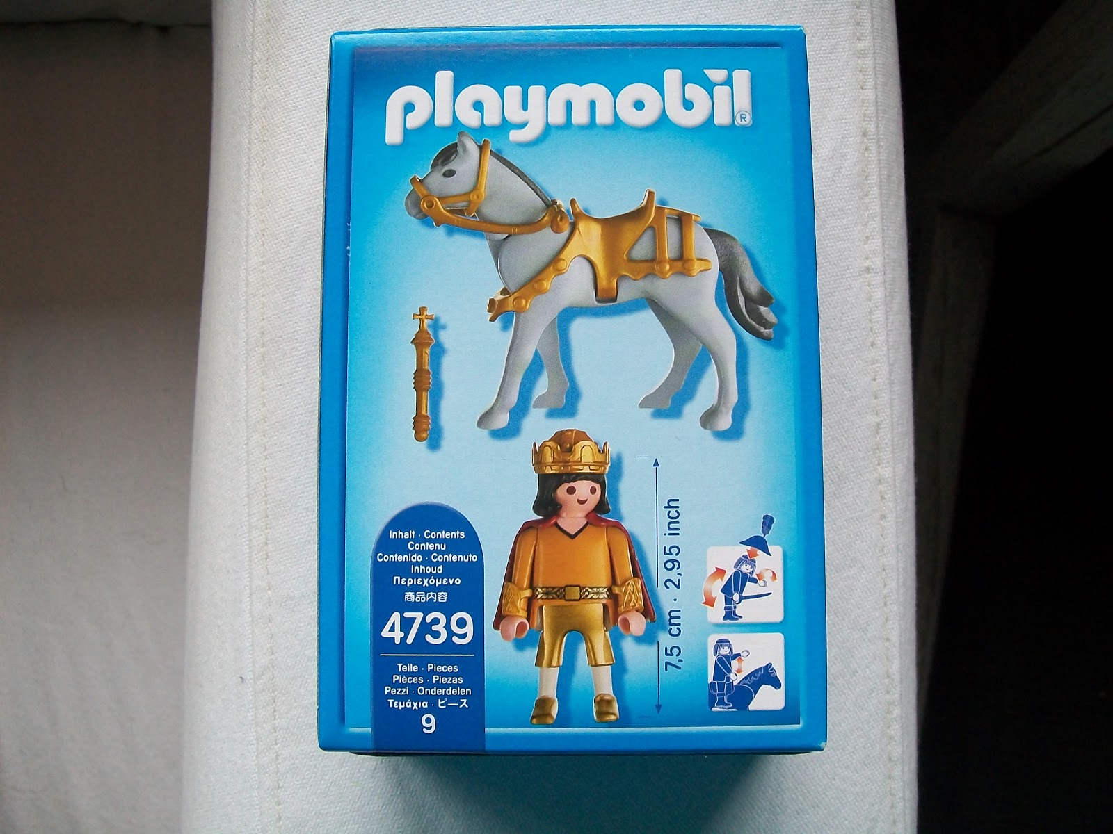 Playmochepe playmobil 4739 caballero bamberger for Playmobil caballeros