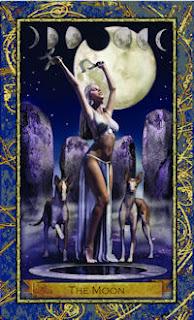 Moon Card