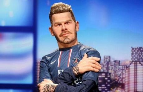 David Beckham entre dans la famille des Guignols de Canal Plus