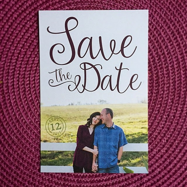 GotPrint Save the Date postcards