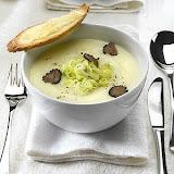 Cream of artichoke and truffle - Eric Bur