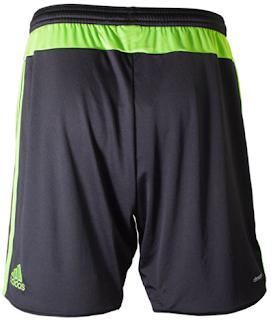 2015-16 Mexico Away Black Soccer Shorts
