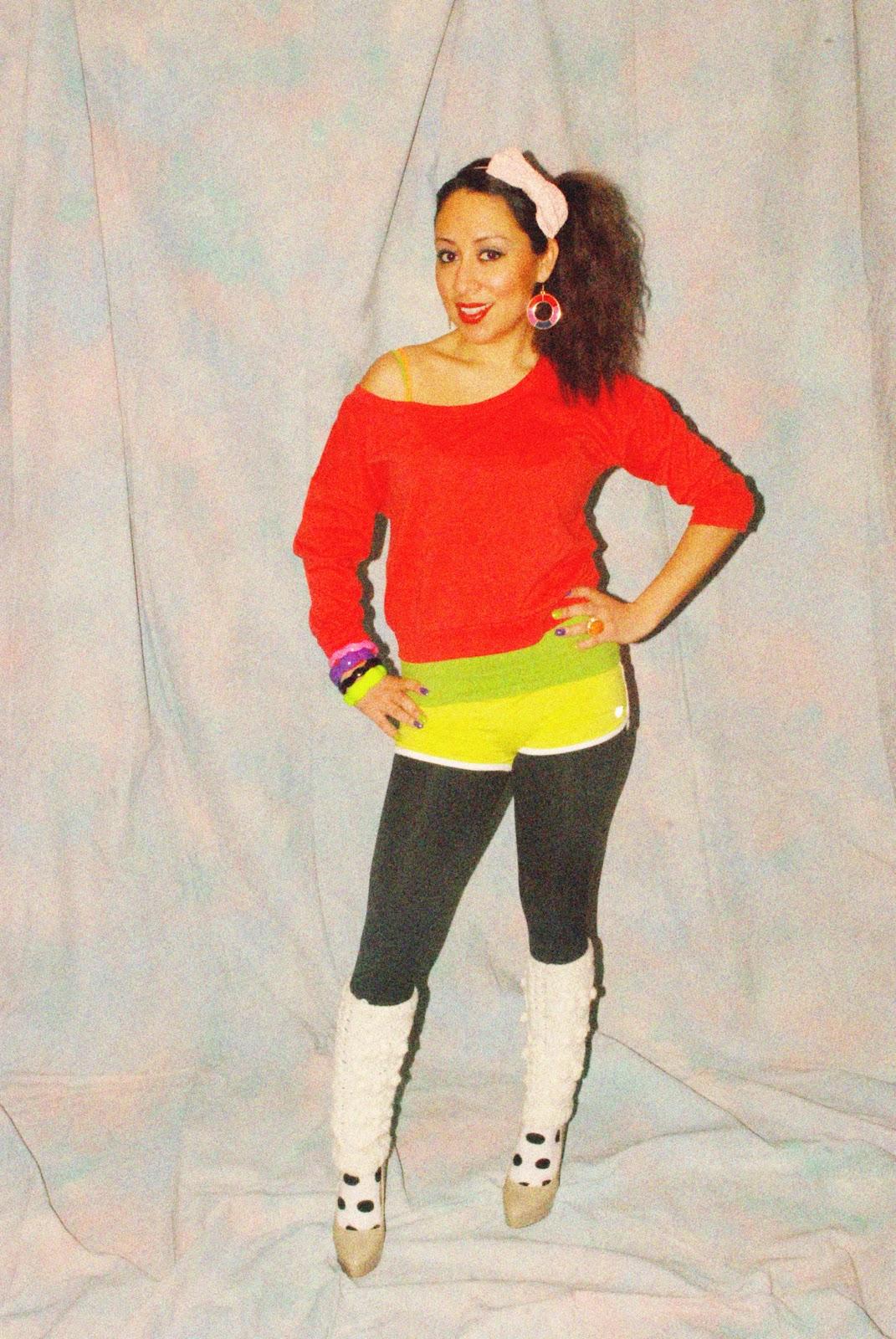 dazzling spice 80s theme