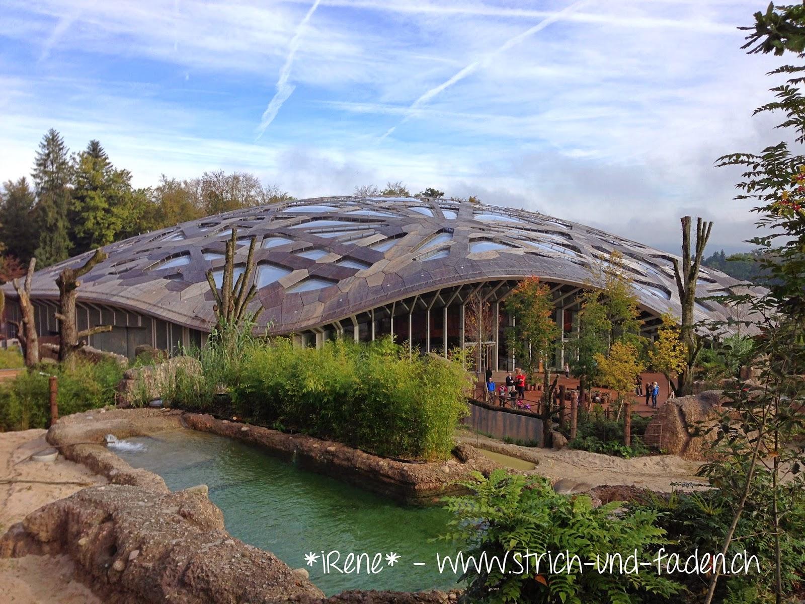 mit Strich und Faden | Anlage Elefanten Zoo Zürich