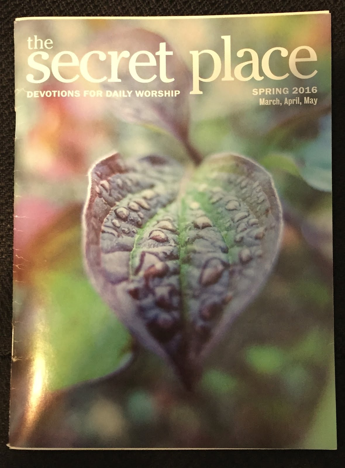 My latest magazine publlication