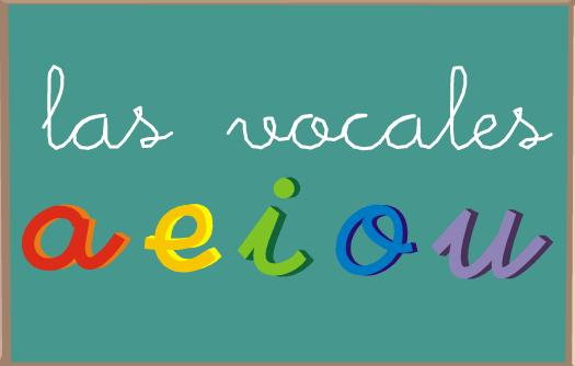 Las Vocales En Nuestro Idioma Son Cinco  A A  E E  I I  O O  U U
