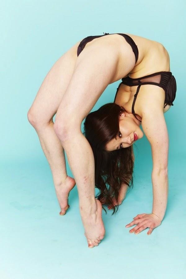 The Human Pretzel: Pixie Le Knot (born Jennifer Keith)