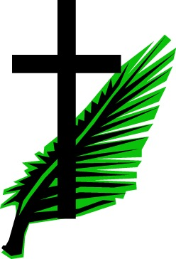 risen savior s 3 minute catechesis passion sunday and palms rh 3 minutecatechesis blogspot com Palm Sunday Worship Crown of Thorns Clip Art