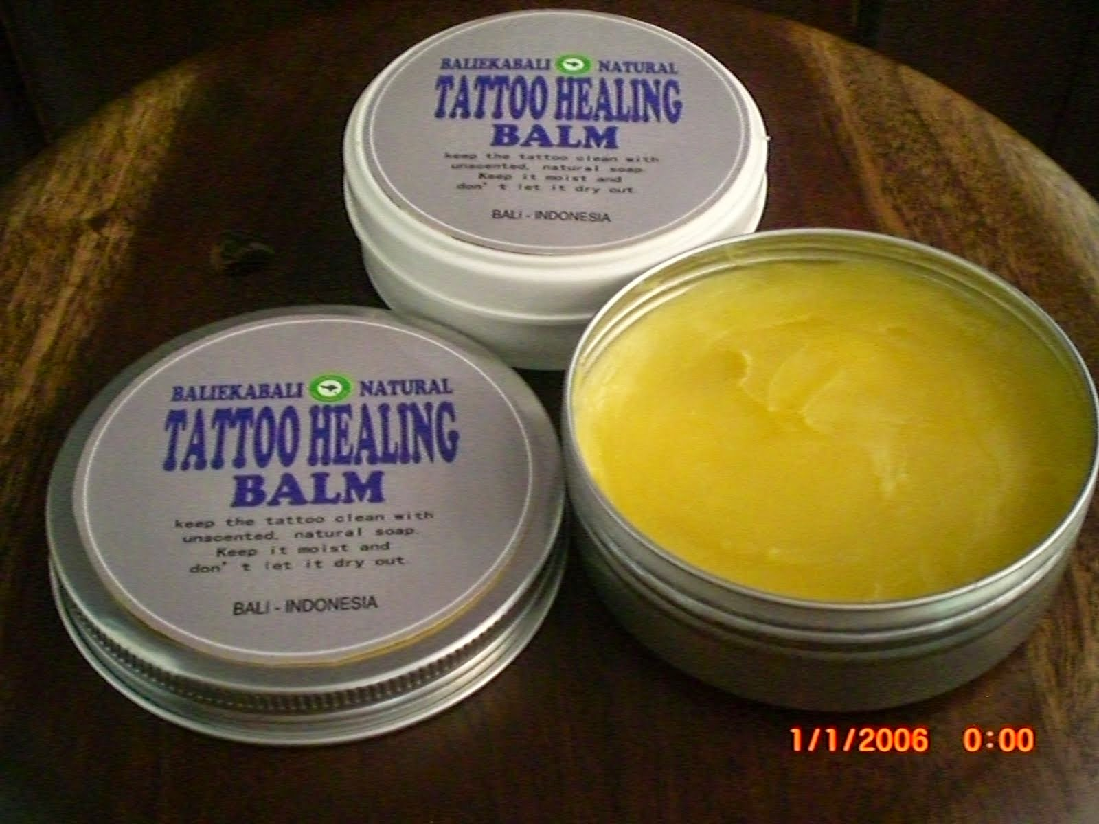 TATTO HEALING BALM NATURAL BALI