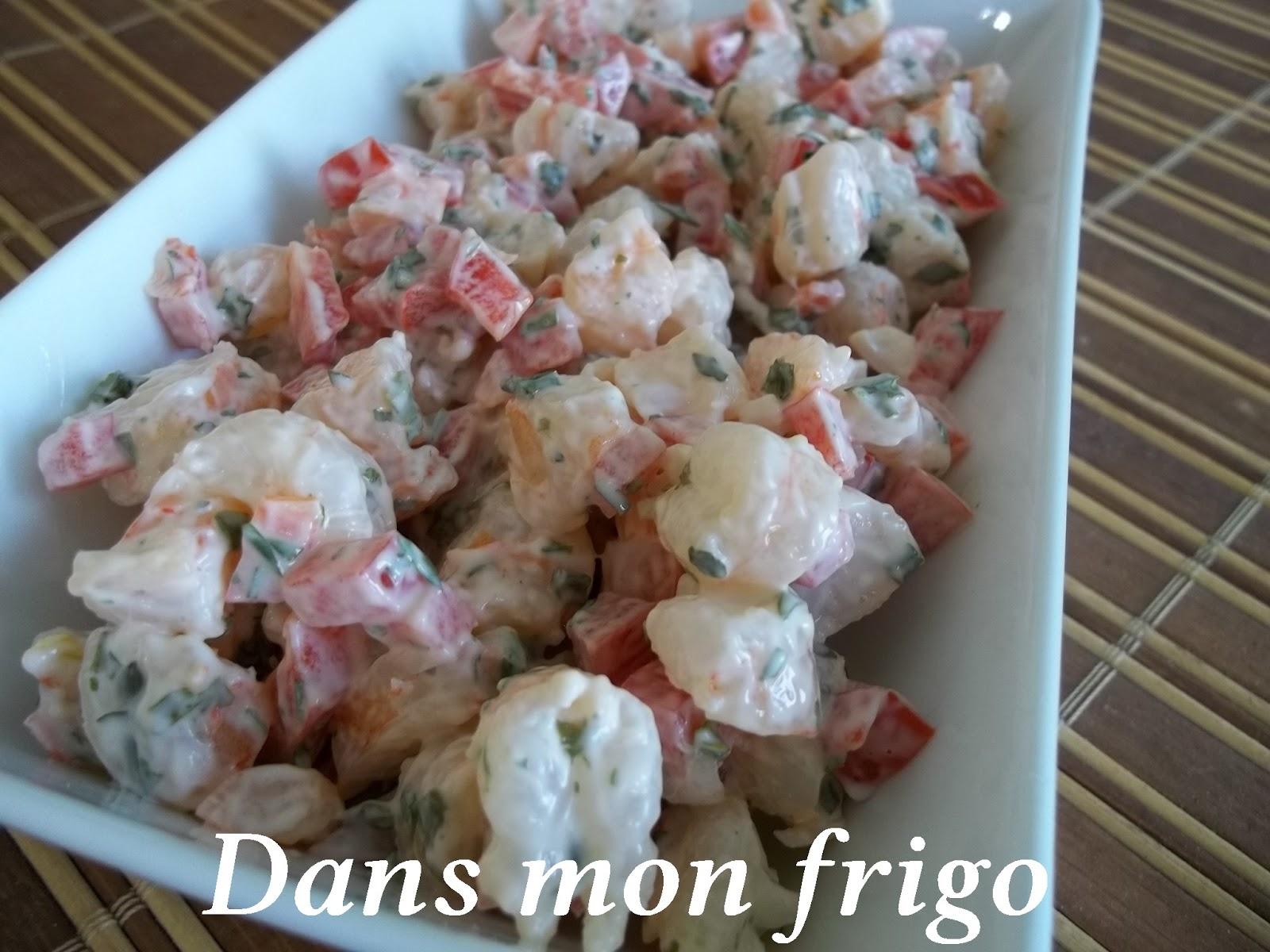 Dans mon frigo burger aux crevettes for 750g dans mon frigo