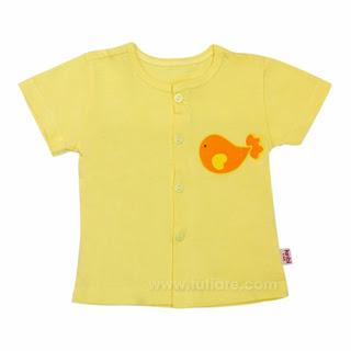 quần áo sơ sinh kinbi cộc tay cho bé
