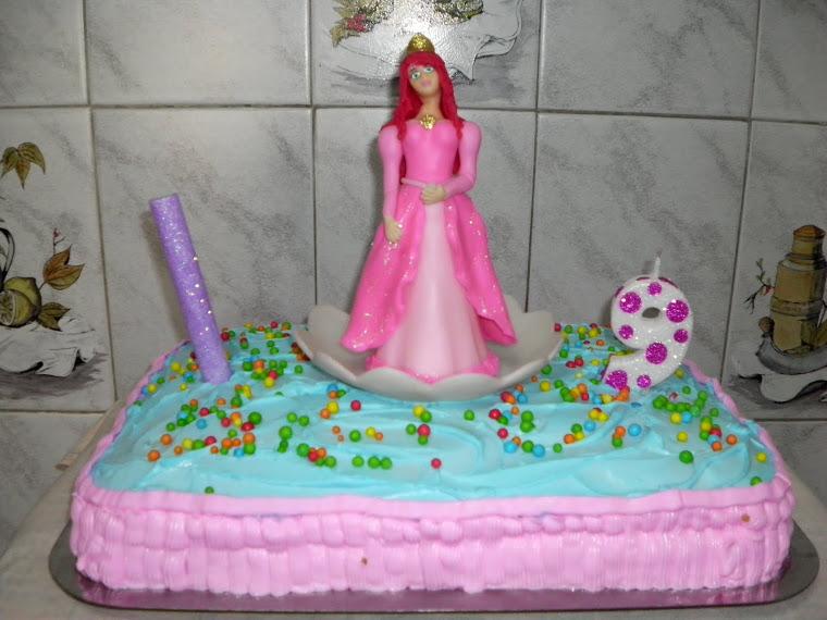 Torta princesa del mar
