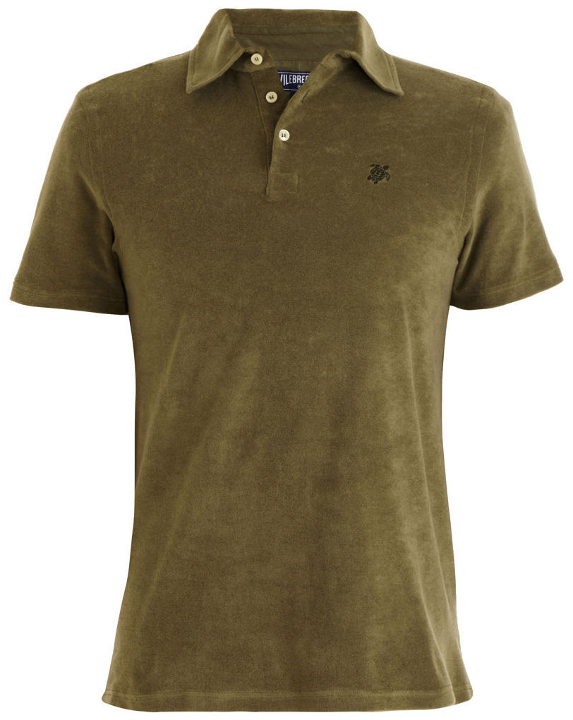 Disappear here vilebrequin terry cloth polo shirt casual for Terry cloth polo shirt