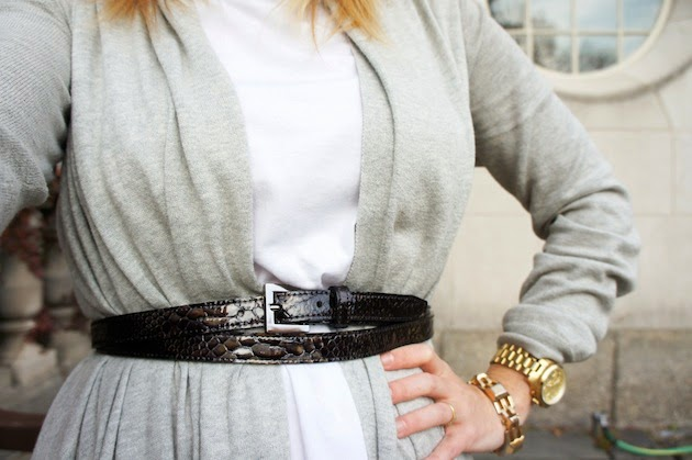 Deborah Elle double wrap belt