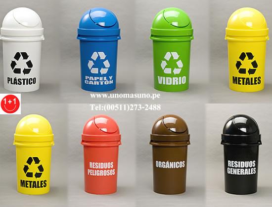 El reciclaje seg n sus colores septiembre 2012 - Contenedores de basura para reciclaje ...
