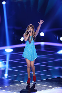 Cassadee Pope front runner on The Voice
