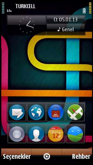 Tema Colors symbian s60v5