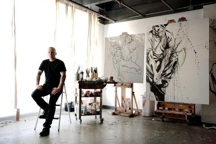 Jason Shawn Alexander—LA—October 2012 | Scribble08 by Mark Murphy