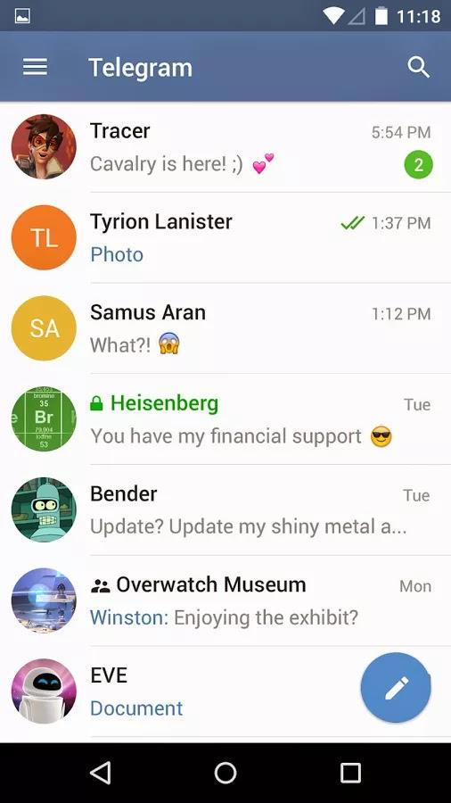 Telegram v3.2.4