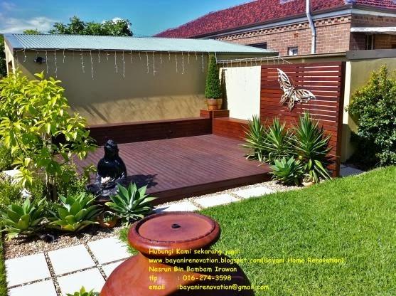 design idea dek bayani home renovation