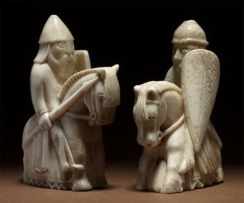 Artsmarttalk chess a game of history and charm the lewis chessmen - Lewis chessmen set ...