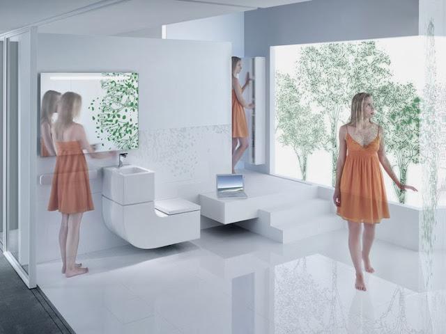 Autoconstrucci n agua reciclada para inodoros y jardines - Inodoros de diseno ...