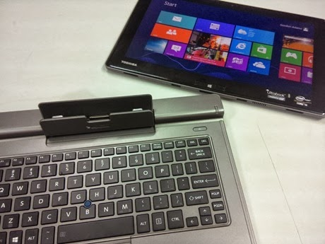 Toshiba Portege Z10t Ultrabook/Tablet is the prefect business tablet !