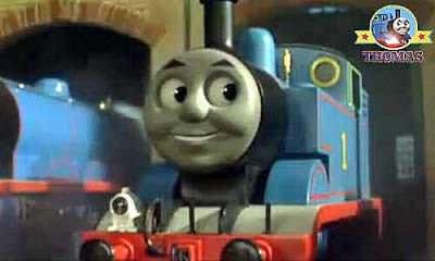 Sodor railway saddle tank engine Thomas the train and friends Percy the small engine Tidmouth shed