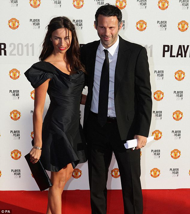 ryan giggs dresses. United front: Ryan Giggs with