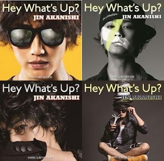 Jin Akanishi 赤西仁 - Hey What's Up?