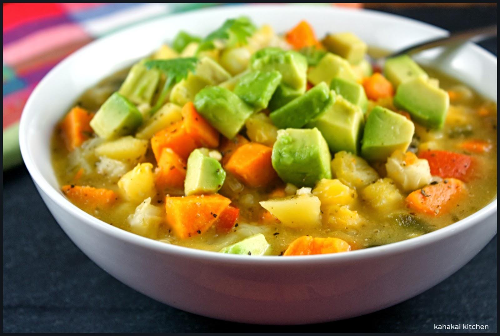 Kahakai Kitchen: Giada's Vegetarian Chili Verde: Bright ...