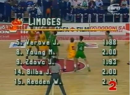Limoges, 1993, campeón de Europa