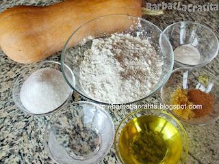 Prajitura cu dovleac - reteta de post ingrediente