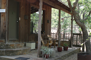 the Oak Cottage porch