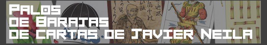 Palos de barajas de cartas de Javier Neila