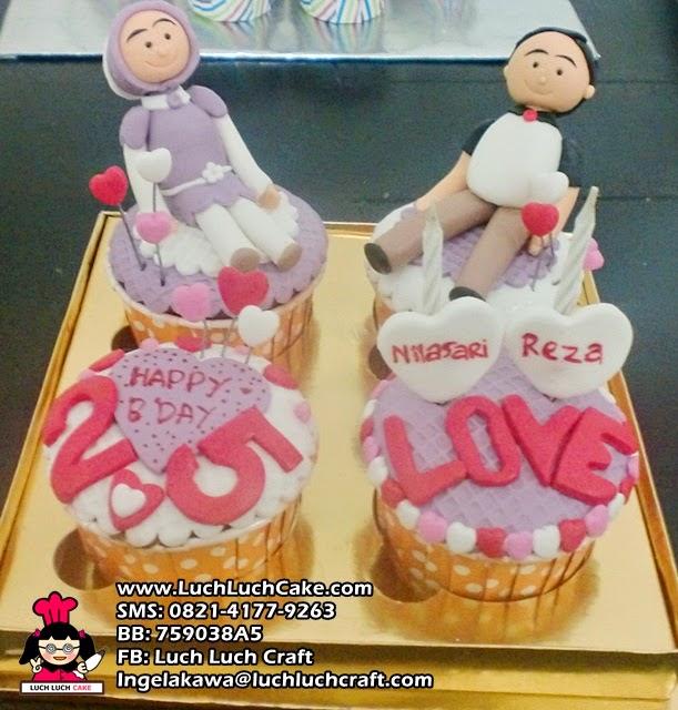 Cupcake Ulang Tahun Untuk Pacar