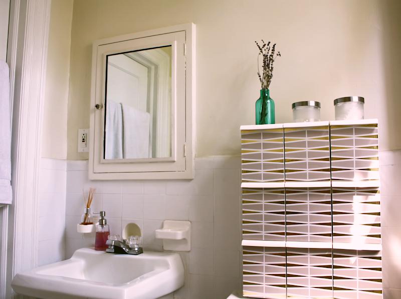 DIY Bathroom Cabi& Vitamin Box title=
