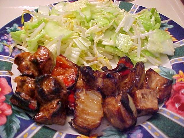 Délicieuses brochettes de poulet à la chinoise