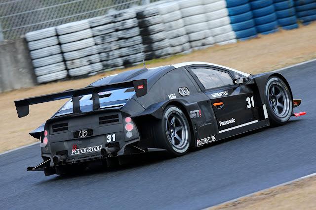 Toyota Prius, ciekawe wyścigowe samochody, Super GT, japońska motoryzacja, JDM