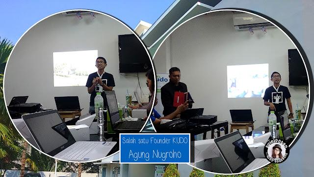 CEO KUDO, Agung Nugroho