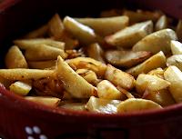 Batatas à Padeiro (vegana)