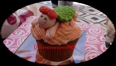 Cupcake Bailarina Tortuga Danza Femenino Vainilla Rosa Cumpleaños Aniversario Boda Fiesta Comunión Niña Buttercream Azúcar Glas Receta Fácil