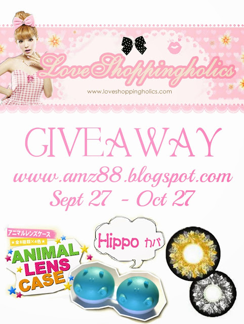 Love Shoppingholics Circle Lens Giveaway