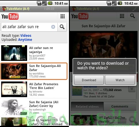 TubeMate for Android 2