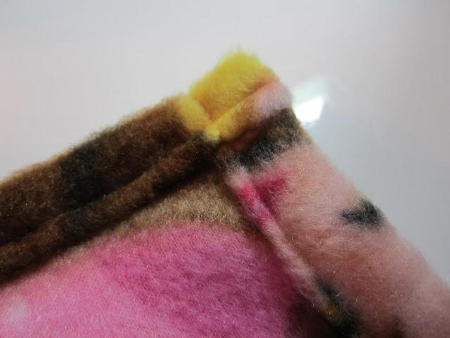 DIY Fleece Baby Blanket