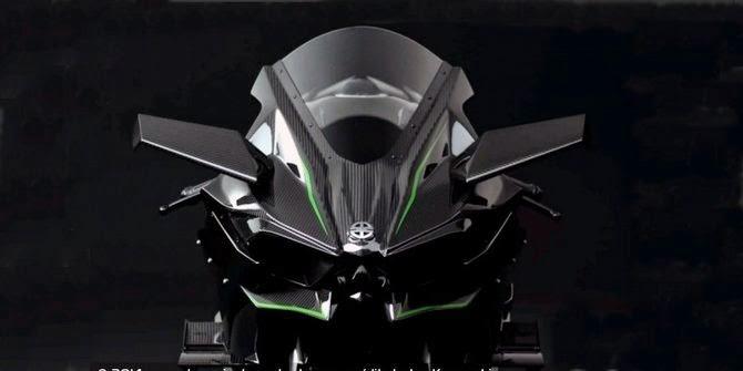 Desain Kawasaki Ninja H2R